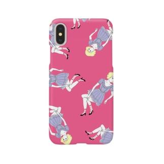 pink girl Smartphone cases