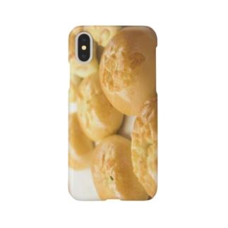 パンiPhoneケース Smartphone cases