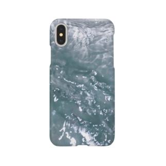 波打つ風呂 Smartphone cases