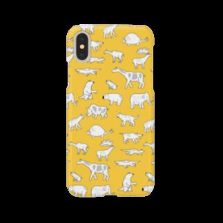 ホリゴメの絶滅した生き物 新生代 キイロ Smartphone cases