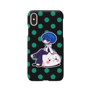 もち&ゴメス Smartphone cases