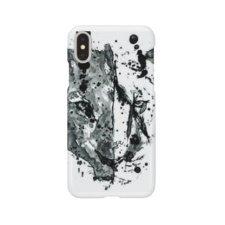 Two faces. Smartphone cases