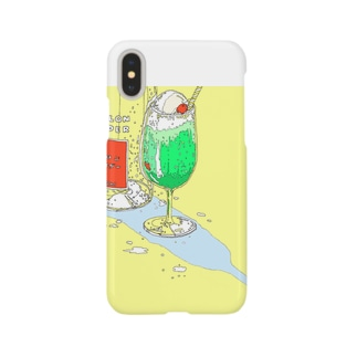 真夏のメロンサイダー Smartphone cases