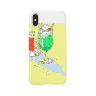 かしわの真夏のメロンサイダー Smartphone cases