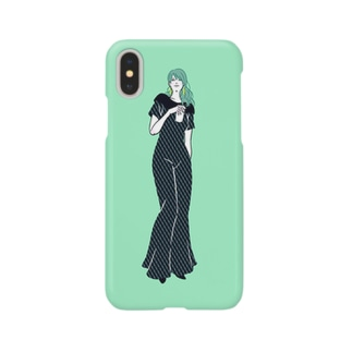 woman_02【星野デザイン事務所】 Smartphone cases