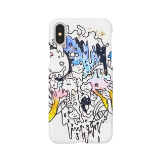 melted cat Smartphone cases