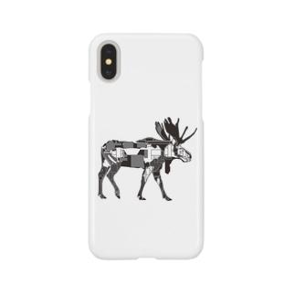 ヘラジカ Smartphone cases