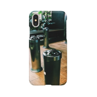 喫煙所 Smartphone cases