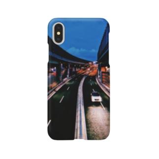 高速道路 Smartphone cases