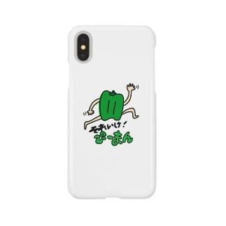 それいけ!ぴーまん Smartphone cases