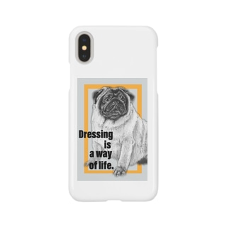 Dressing is a way of life -服装は生き方である- Smartphone cases