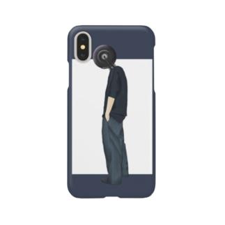 異形頭【タイヤ】 Smartphone cases