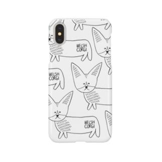 コーギースマホケース Smartphone cases