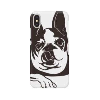 ポピりん Smartphone cases