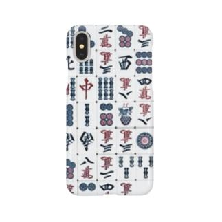 麻雀牌 Smartphone cases
