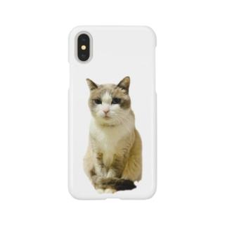 お利口さんネコ☆Riku Smartphone cases
