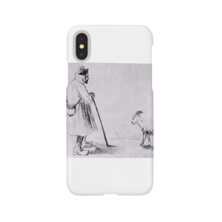 ゴッホ / 1862 /The Goat Herd / Vincent van Gogh Smartphone cases