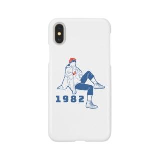 1982ガール1 Smartphone cases
