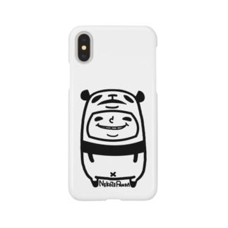 ねこぜパンダと少年 Smartphone cases