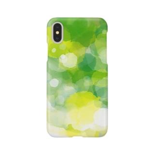 新緑のかおり Smartphone cases