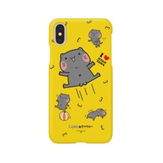 iPhoneケース『やっタマ』しらたまとタマクロー Smartphone cases