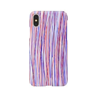 ムラムラの赤と青のアレ -REDBLUE- Smartphone cases