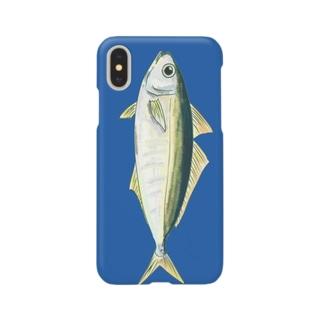 ザ・味のあるアジiphoneケース Smartphone cases