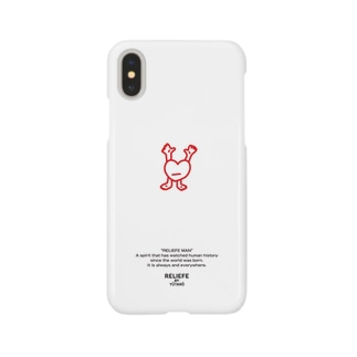 RELIEFE MAN [RED] Smartphone cases