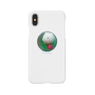 上からクリームソーダ Smartphone cases