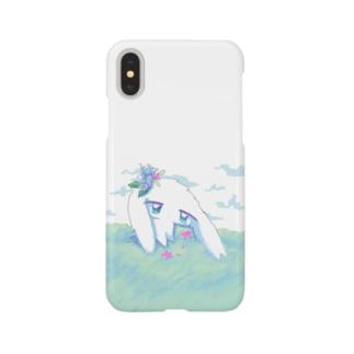 孤独うさぎ Smartphone cases