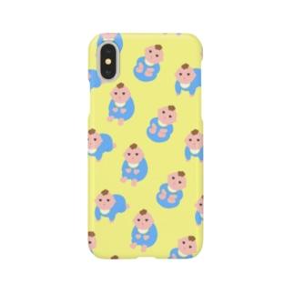 ムラムラの赤さんが行く -BABY- Smartphone cases