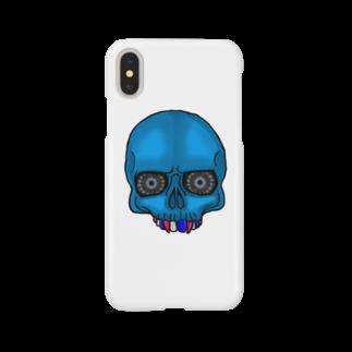owlbeak5678のトリコロールドクロ Smartphone cases