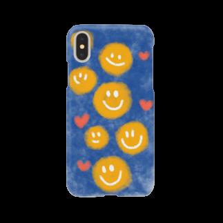 _U1nk_のスマイルスマホケース Smartphone cases