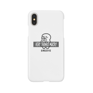 VERYTHANKSMUCKY_officialのVTM_character+logo_iPhonecase_2019SUMMER Smartphone cases
