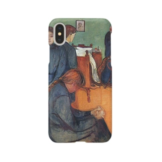 ムンク / 病室での死 / Death in the sickroom / Edvard Munch/1893 Smartphone cases