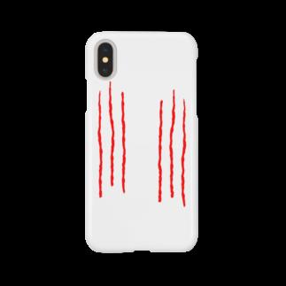 ひよこねこ ショップ 1号店の爪痕 Smartphone cases