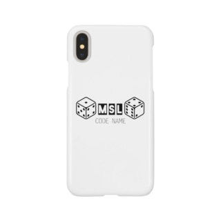 MICSUNLIFE コードネーム Smartphone cases