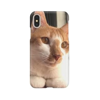 GAGAちゃん柄スマホケース(iPhone X) Smartphone cases