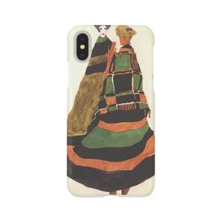 エゴン・シーレ / 1911 / Design for a postcard / Egon Schiele Smartphone cases