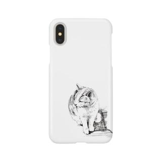 江ノ島ネコケース Smartphone cases