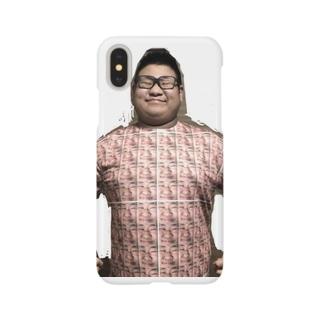 俺が俺4Tシャツ着てる君 Smartphone cases