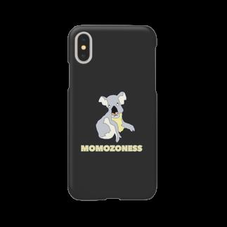 ぎょんすの寺子屋の無表情コアラ(MOMOZONESS) Smartphone cases