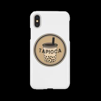 すとろべりーガムFactoryのタピオカ  カラー Smartphone cases