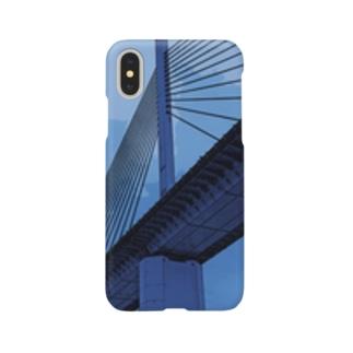 Bridge blue Smartphone cases