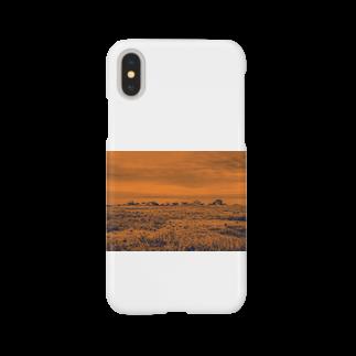 FahrenheitのRock orange Smartphone cases