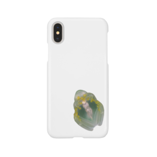 nemuriのフライシュマンアマガエルモドキくん Smartphone cases