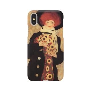 エゴン・シーレ / 1909 / Woman with Black Hat / Egon Schiele Smartphone cases
