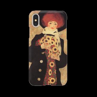 Art Baseのエゴン・シーレ / 1909 / Woman with Black Hat / Egon Schiele Smartphone cases