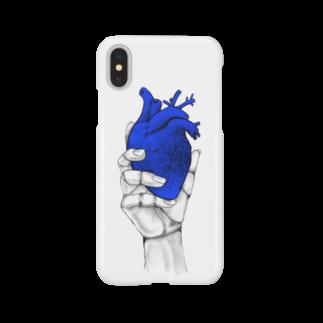 nemuriのHeart オテテ Smartphone cases