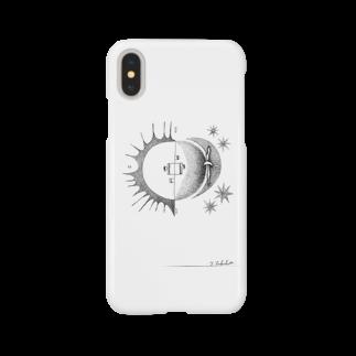 morinishiの太陽と月café Smartphone cases